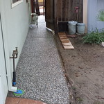 Exposed Aggregate Concrete Walkway In Davis