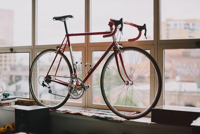 New bike day, atmo.
