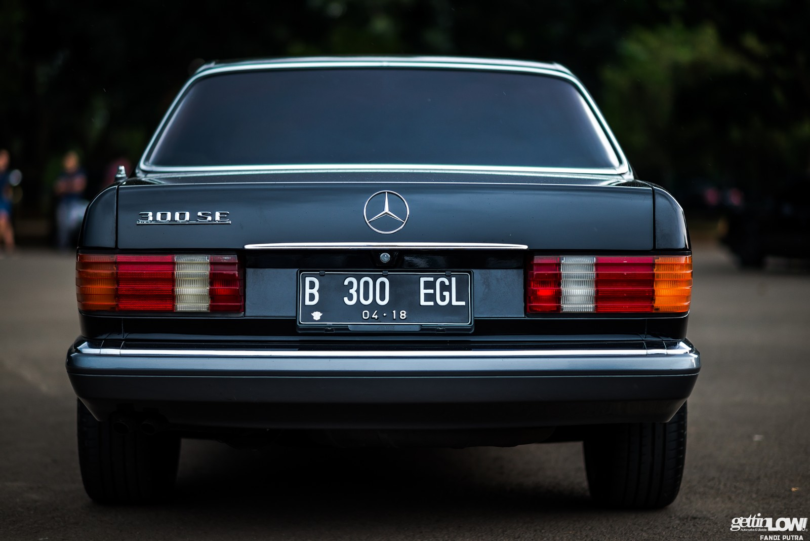 Indra Sukarno: Mercedes-Benz W126 1990 – GETTINLOW