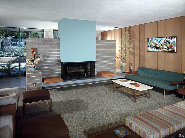 1958 ... The Bauer House:  architect Carl Maston