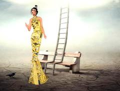 Ghee Klimt Adele Gown