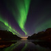 aurora night by John A.Hemmingsen