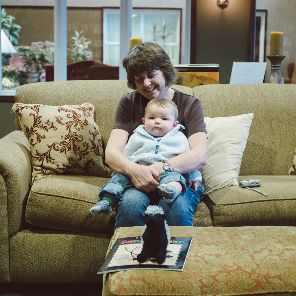 Grandma and Ezra