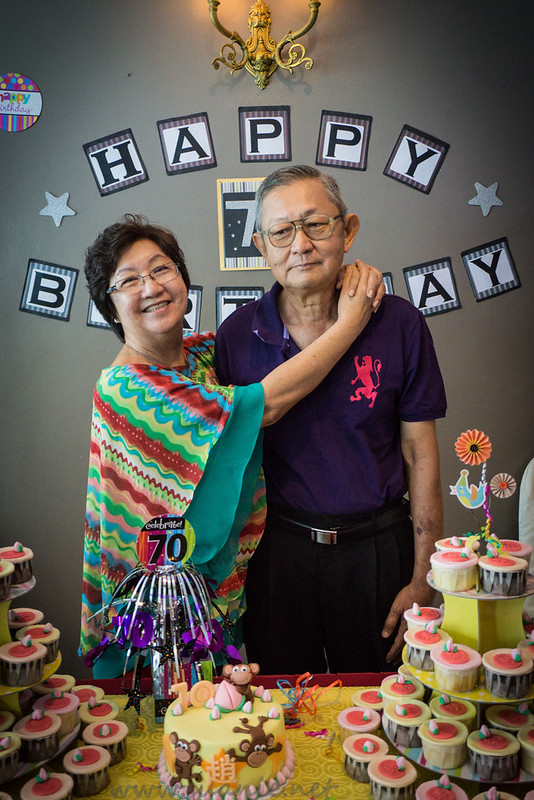 My Dad's 70th Birthday Party - parents