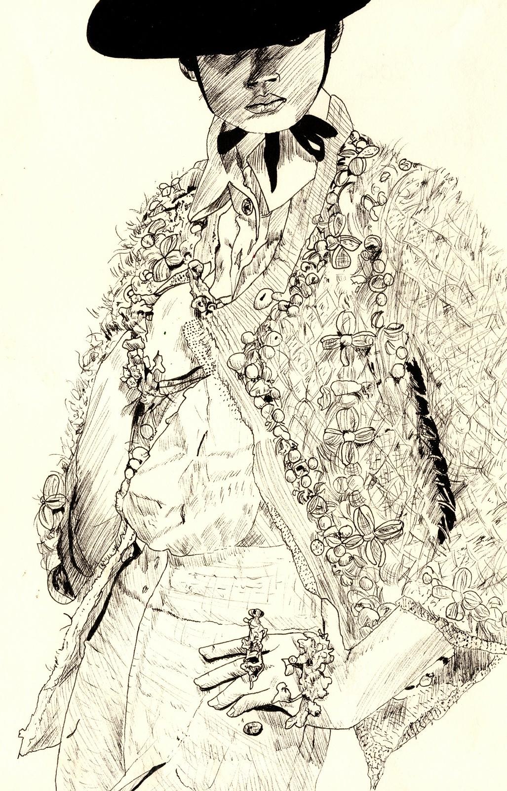 Sketchbook - Chanel