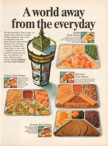 1967 Swanson TV Dinner Advertisement Life December 22 1967 | by SenseiAlan