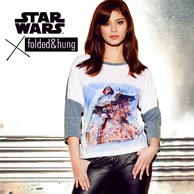 Angel - Star Wars x Folded  & Hung