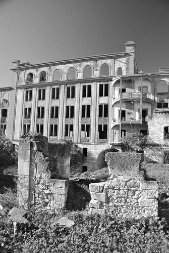 Antigua fábrica de harina en Peñaflor