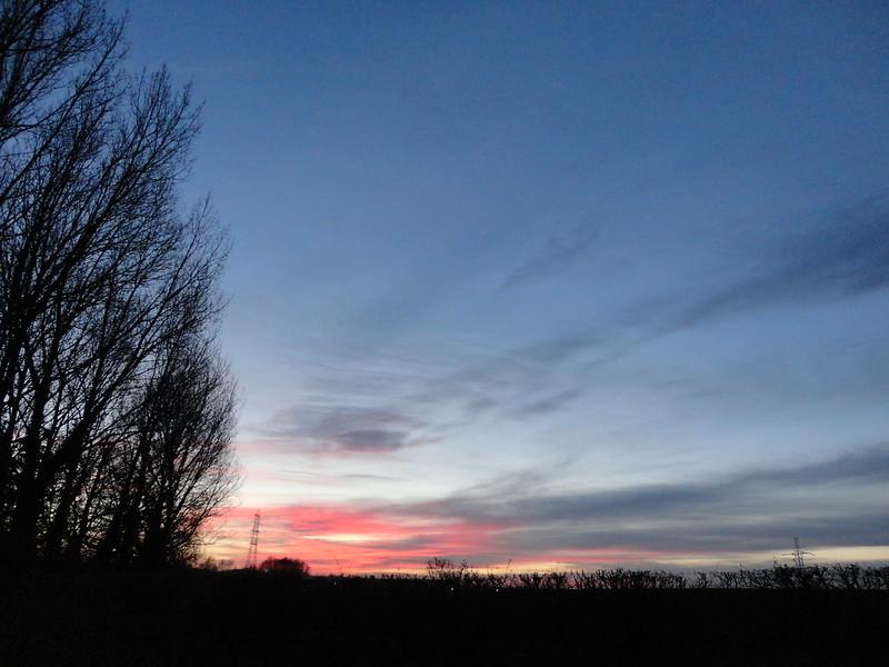Deepening sky