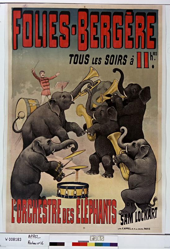 L'orchestre des éléphants