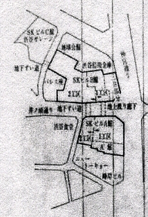 西武百貨店渋谷店地下通路