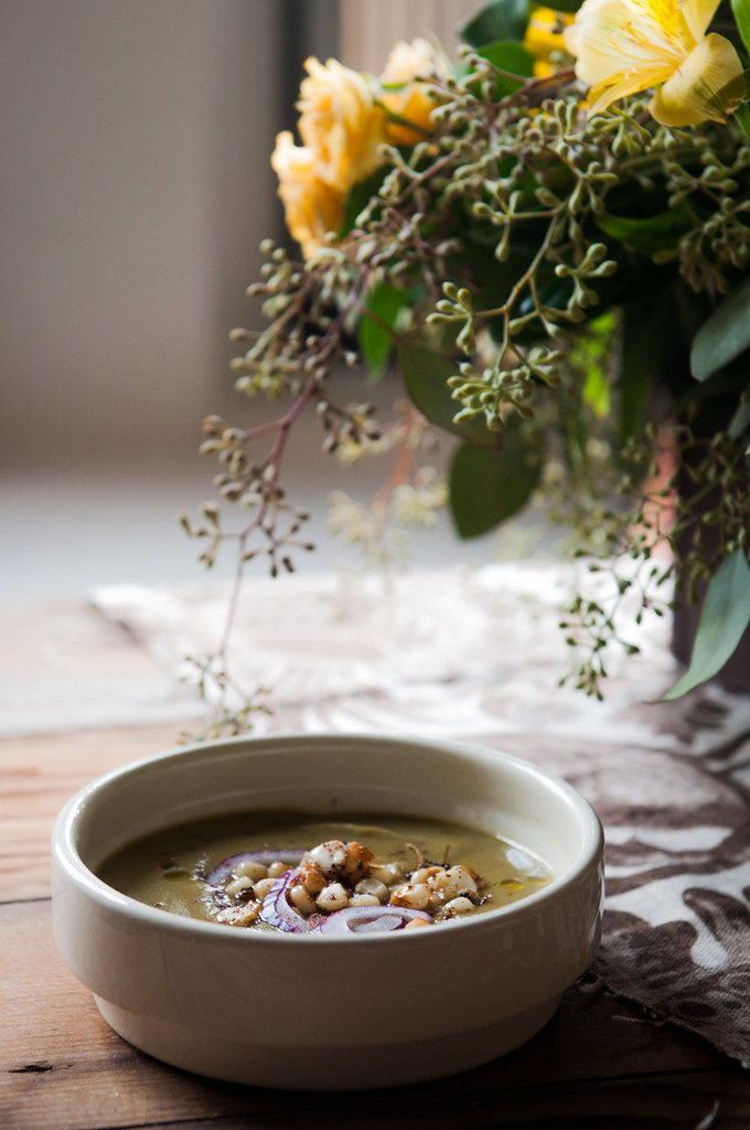NOURISHED Issue #3 - Recipe for Velvety Celeriac and Parsley Soup