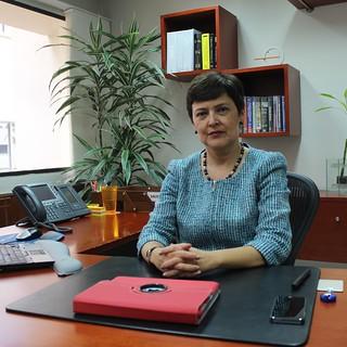 Alumna Cecilia Maya, MA '00, PhD '04