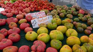 Tomatoes in Heirloom