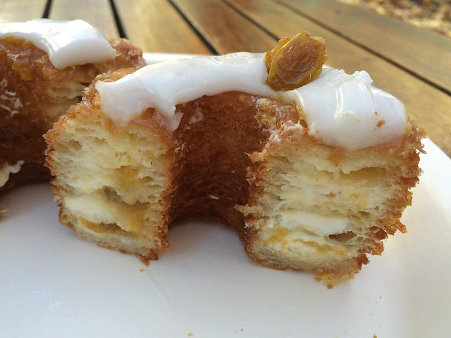 Rum raisin cronut - Dominique Ansel Bakery