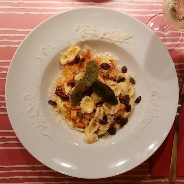 Kürbis-Salbei-Pasta
