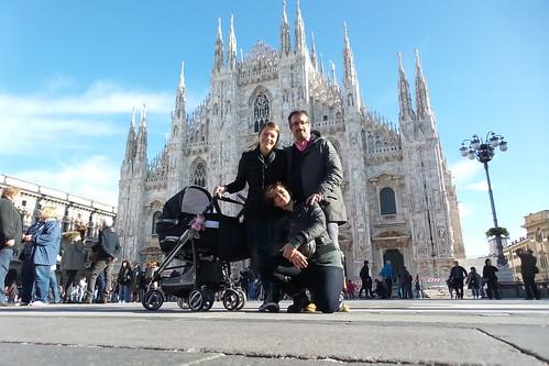 Foto di gruppo dal centro di #Milano