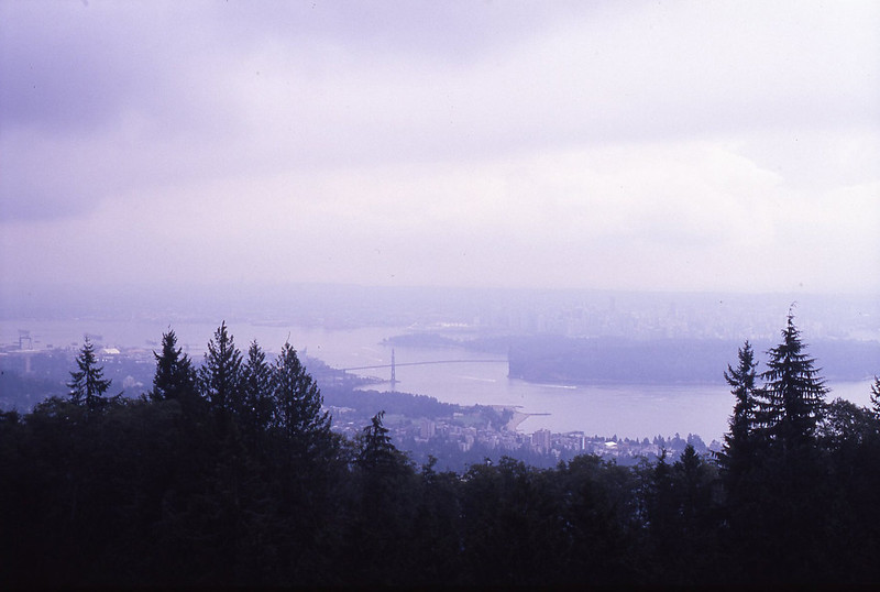 Vancouver through the mist