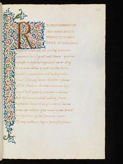 Genève, Bibliothèque de Genève, Ms. lat. 99, p. 211