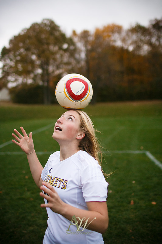 Rush Henrietta Senior High School photographer Andrew Welsh Photography soccer forest fall colors field sports Rochester NY