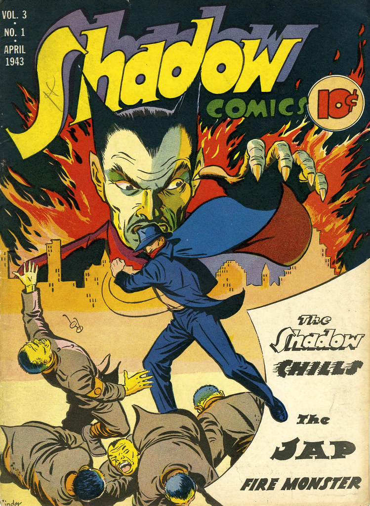 Shadow Comics V3#1 Mile High pedigree (Street & Smith, 1943) Jack Binder Cover