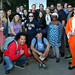 LMU School of Film & Television posted a photo:	LMU students gather to take advantage of a photo opp with The Farrelly brothers.