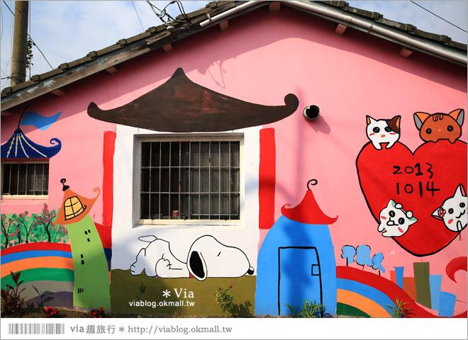 【嘉義龍貓村】南崙彩繪村~全台第一座以龍貓為主題的彩繪村!4
