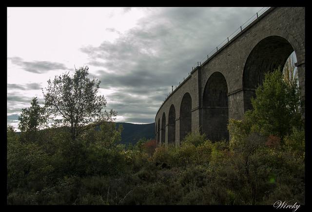 Buscando el viaducto de San Juan en Villanúa