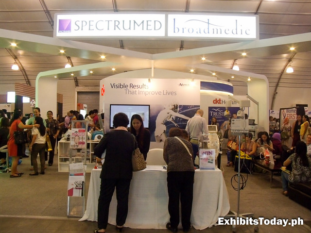 Spectrumed Trade Show Booth