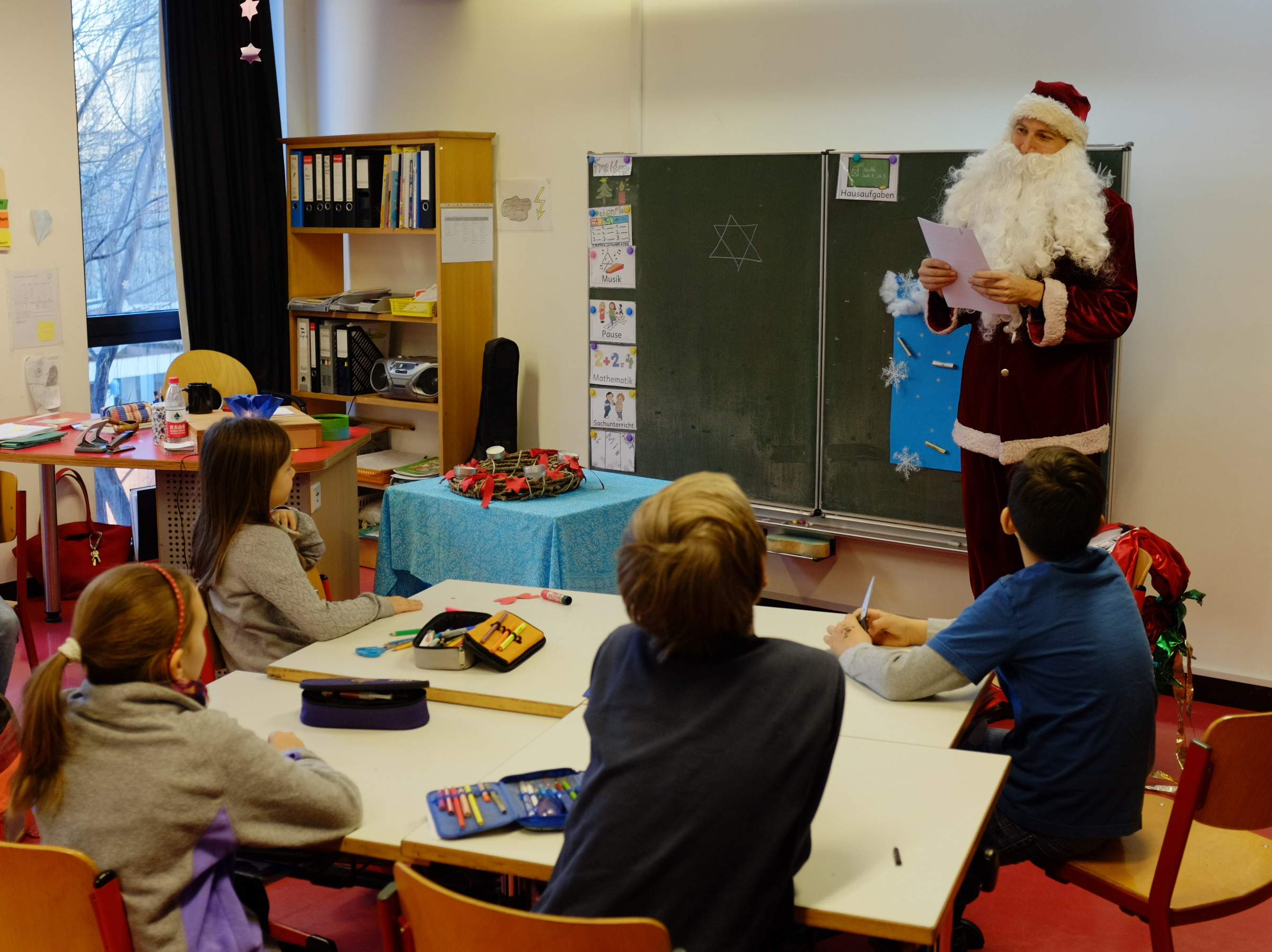 Nikolaus war in der DSP!