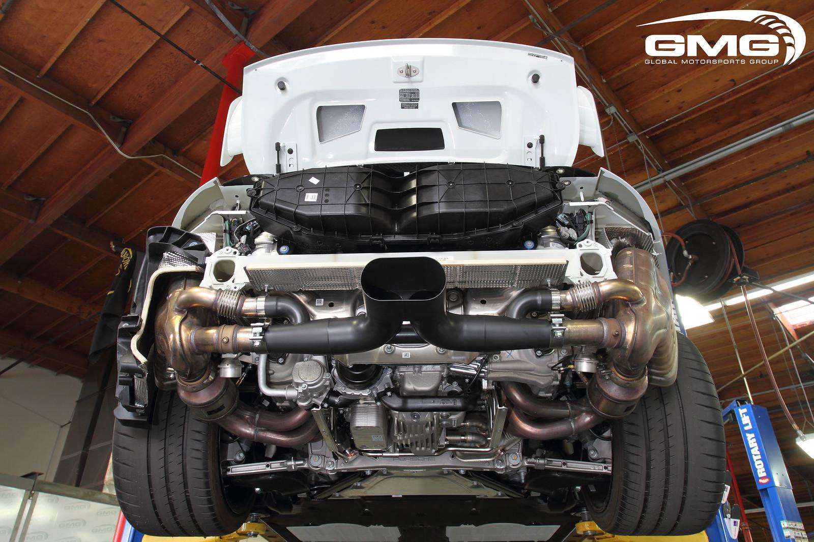 Gmg Racing Porsche 991 Gt3 Exhaust Center Section Now