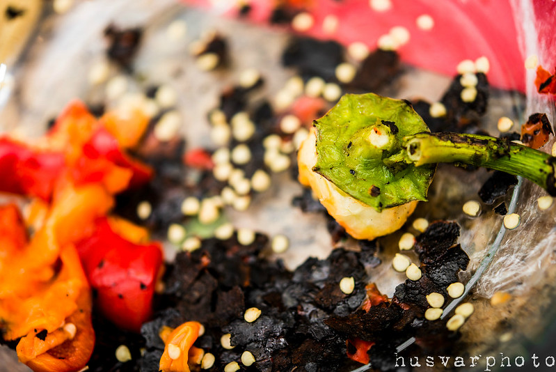 how to fire roast a red bell pepper in_the_know_mom #NewTraDish