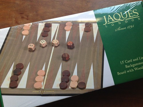 Jaques backgammon set