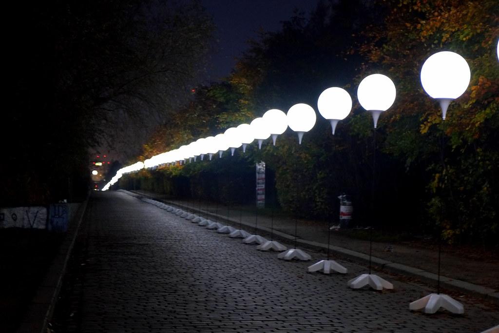 lichtgrenze berlin 2014 - mauerpark