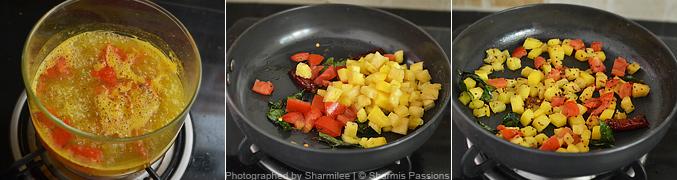 Sprouts Bread Sandwich Recipe - Step2