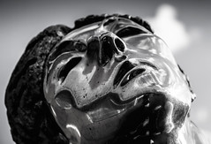 Facebook 5 day Black and White challenge Metal Mono statue