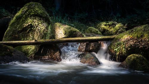 light shadow water creek landscape austria licht frozen österreich drops wasser magic rapids bach motionblur landschaft schatten oberösterreich cataract tropfen felsen bewegungsunschärfe upperaustria bächlein eingefroren stromschnelle pesenbachtal wasserbelebung