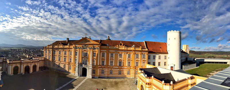 Melk Abbey panoramas