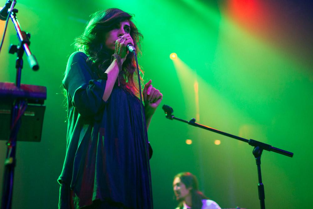Yasmin Hamdan @ Roundhouse, London 16/11/14