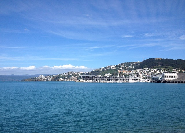 Harbour on a sunny day | Wellington