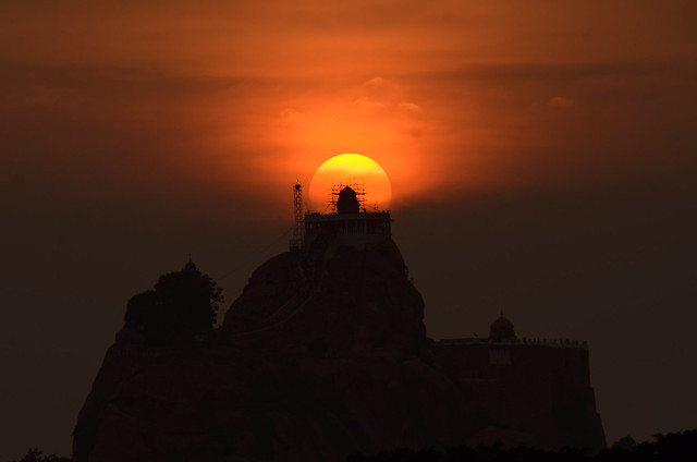 Sunset in Trichy
