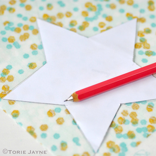 Fabric star tutorial