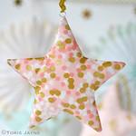 Fabric stars 5