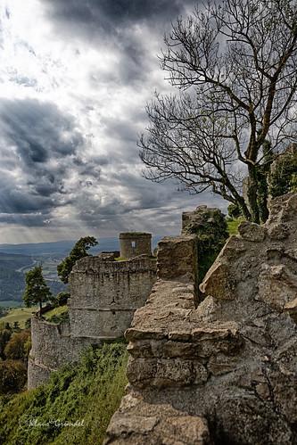 castle canon burg 6d hohentwiel