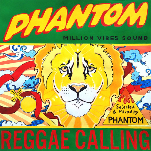 Reggae Calling - Mixtape artwork for Million Vibes Sound
