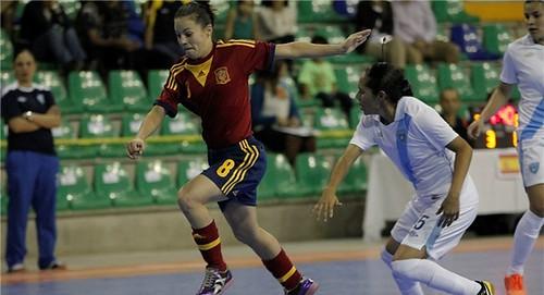 AionSur 15977764756_121df7199b_d Goleada y clasificación para semis como primeras de grupo Deportes Fútbol Sala