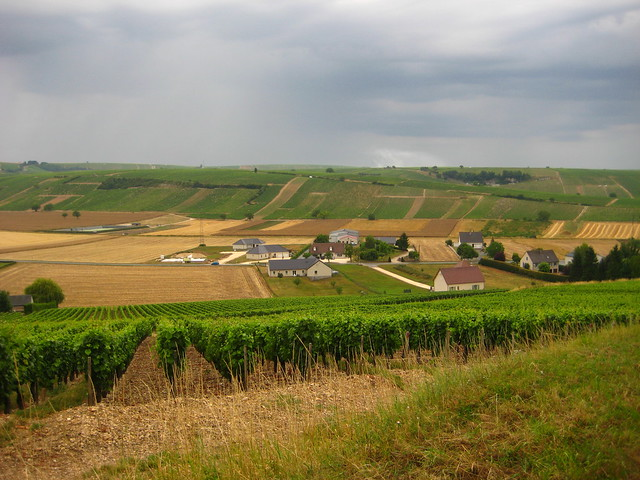 Looking South from Sancerre