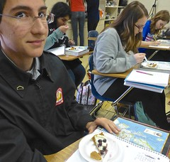 Caddo Magnet HS: cheesecake