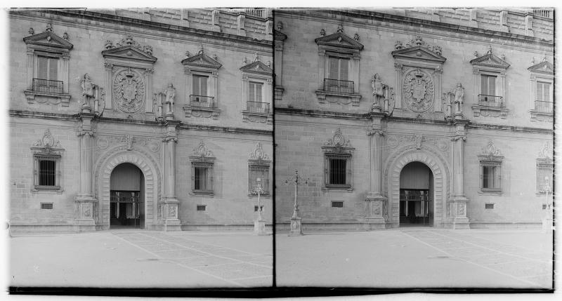 Alcázar hacia 1900. Fotografía de Alois Beer © Österreichische Nationalbibliothek