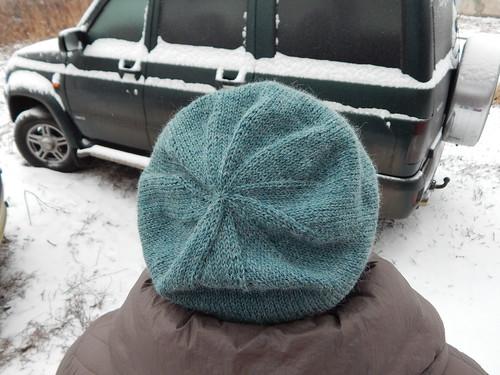 шапка сверху